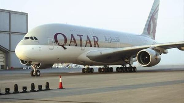 A Qatari plane with a technical team on board lands at Kabul Airport