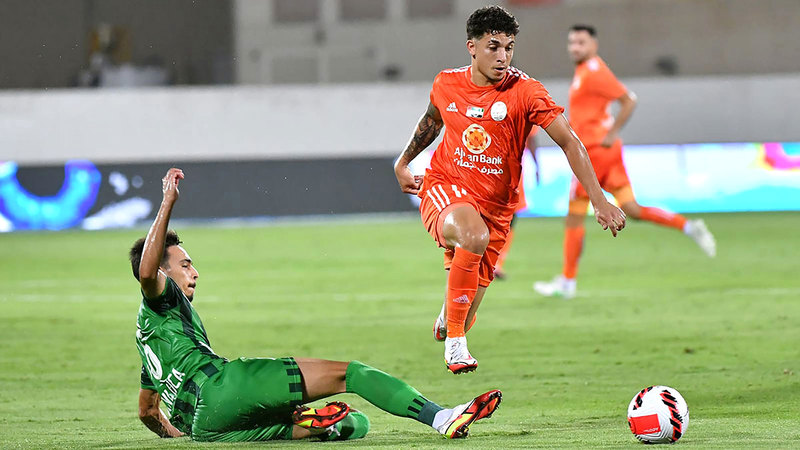 Ajman scores in two goals..and embraces Arabism