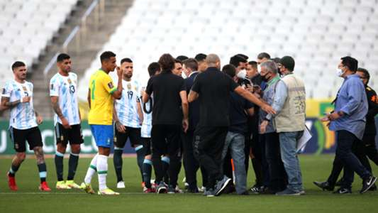 Amir objects and 149 goals .. Brazil-Argentina meeting brings back memories of strange football matches