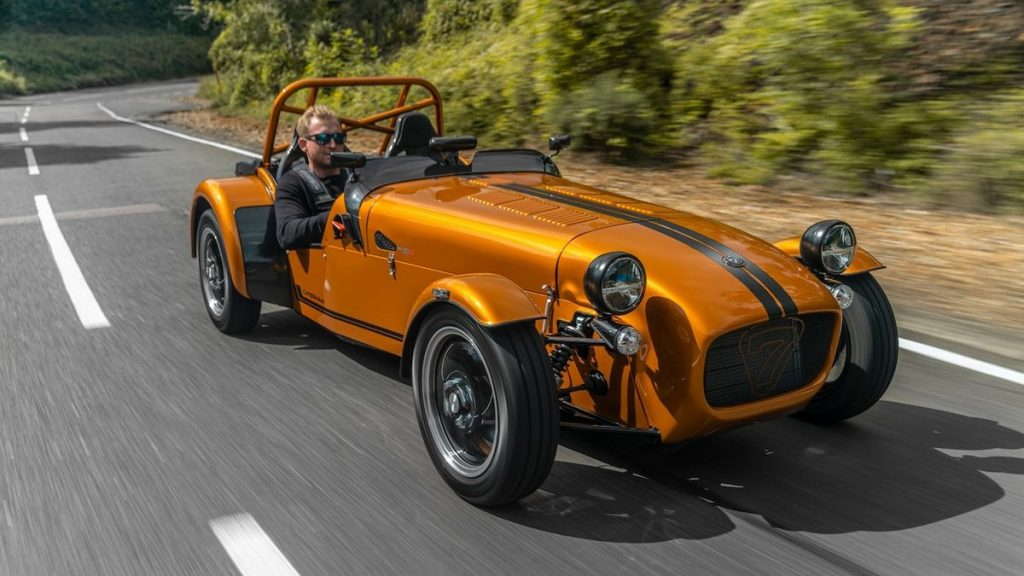 Caterham introduced its lighter model