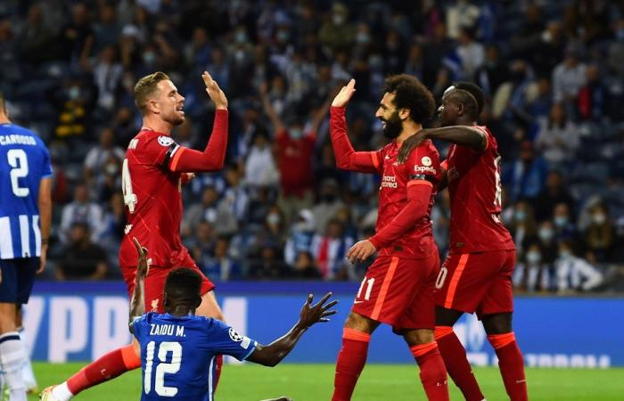 Champions League .. Mohamed Salah leads Liverpool to sweep Porto .. and Atletico Madrid snatch a dramatic victory at the expense of Milan