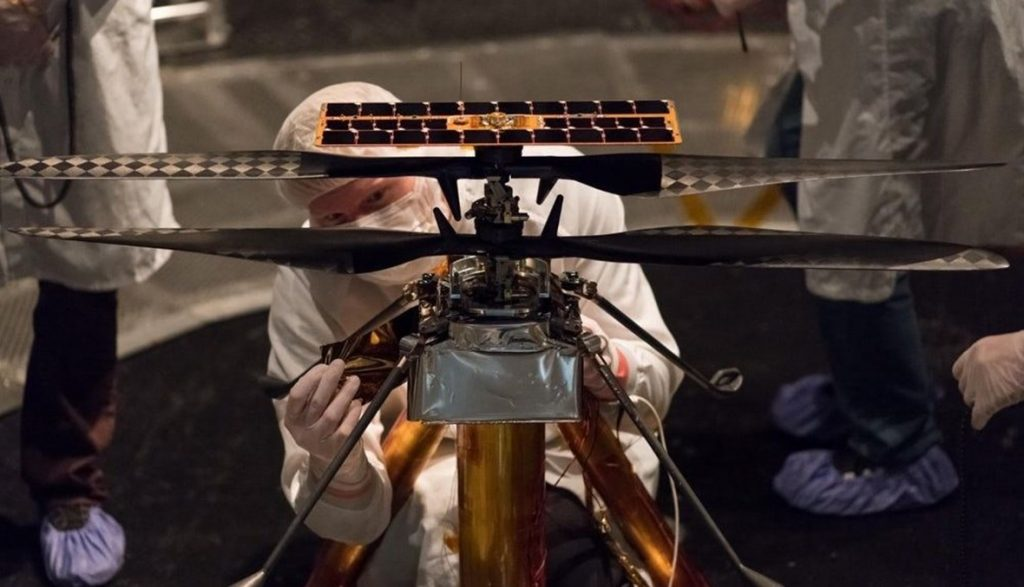 China prepares to invade Mars by helicopter