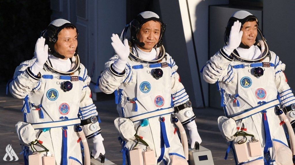 Chinese astronauts complete their mission in Earth's orbit » Iraqi News Agency