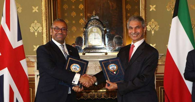 Kuwait and the United Kingdom agree to enhance cooperation in cyber security, trade, education and development