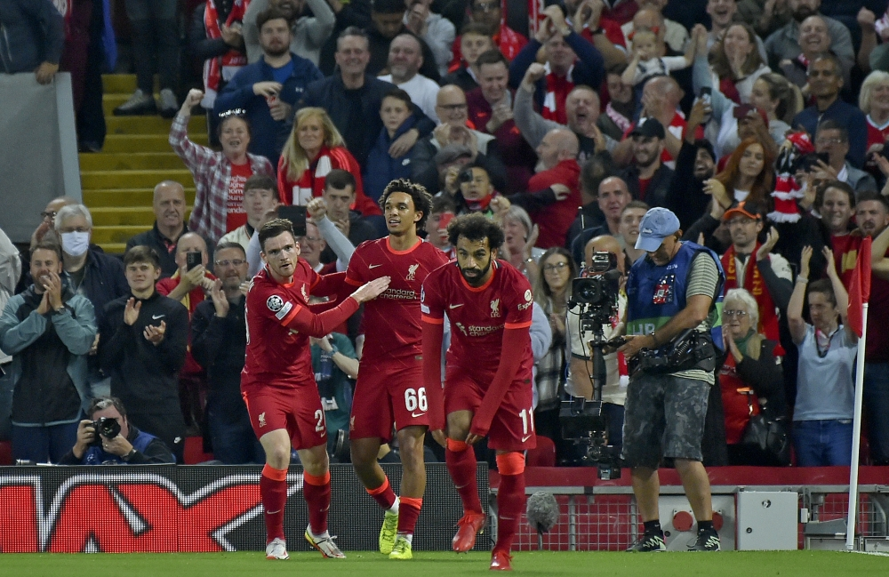 Liverpool defeats Milan, and Mohamed Salah is close to breaking Samuel Eto'o's record