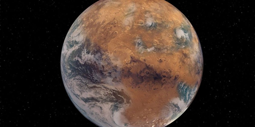 Mars has always been too small to cling to its oceans, rivers and lakes