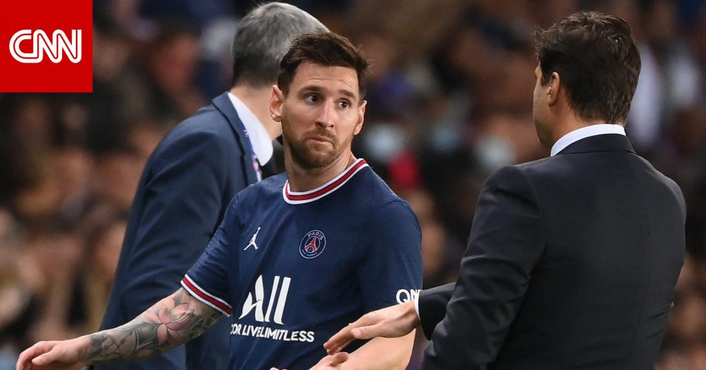 Switching Messi .. Paris Saint-Germain coach reveals the reason amid a wave of controversy