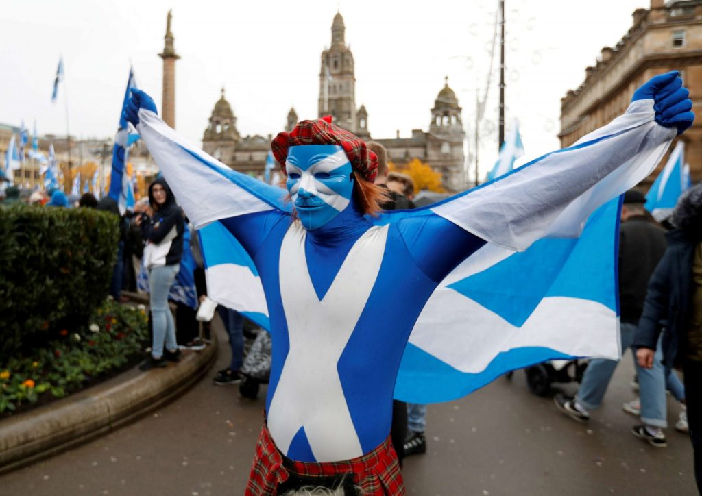 Thousands of Scots fought for independence from the United Kingdom