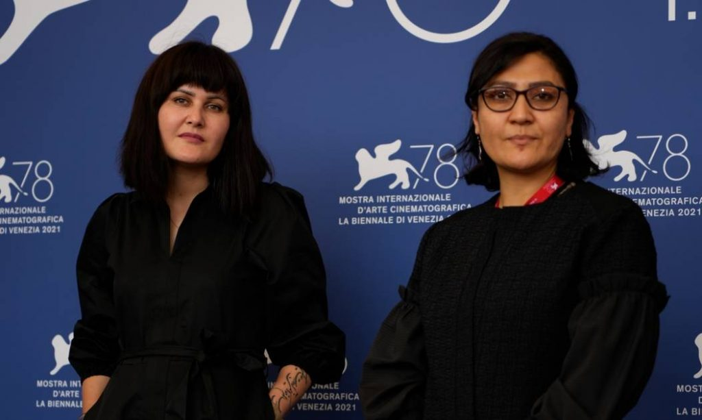 Two Afghan female directors launch a distress call at the Venice Film Festival