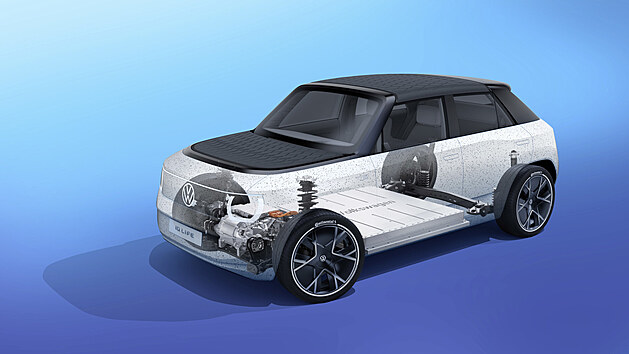 ID.  LIFE, the electric concept of a small car presented by Volkswagen