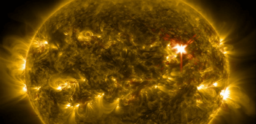 Warning of it is possible only one day in advance... a catastrophic solar storm that may end the world!