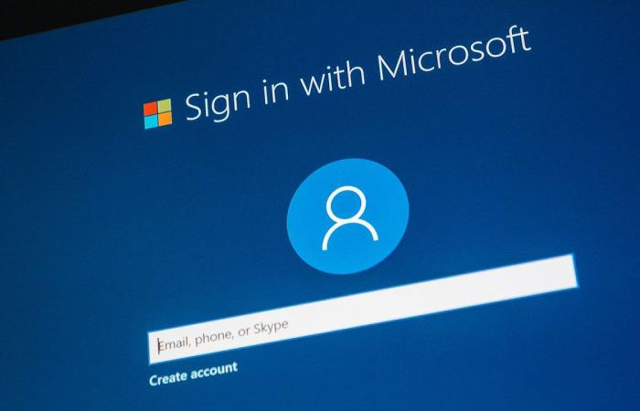 Without a password, the mechanism and steps for registering with a Microsoft account