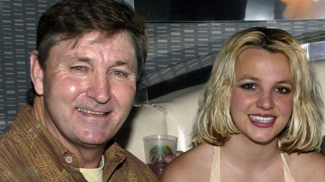 Britney Spears and her dad Jamie in 2006