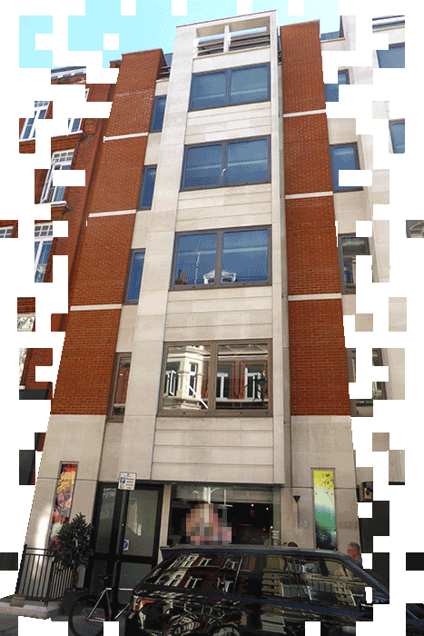 A picture of a property in London