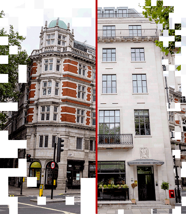 Pictures of real estate in London