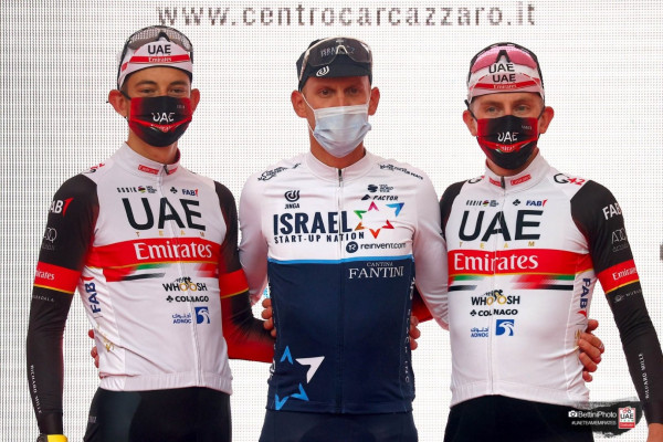 """Emirates News Agency - """"Emirates Cycling"""" wins second and third places in the Tri Valley Valesini race"""
