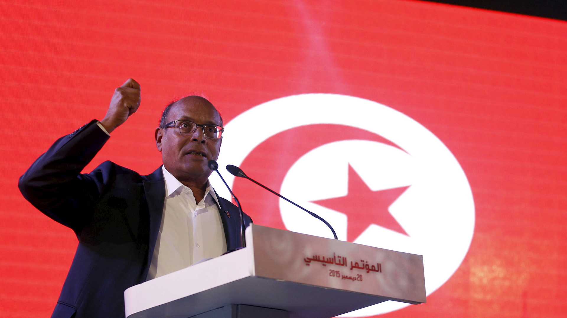 Marzouki on his implicit accusation of thwarting the holding of the Francophone summit in Tunisia: I do not only acknowledge that, but I am proud
