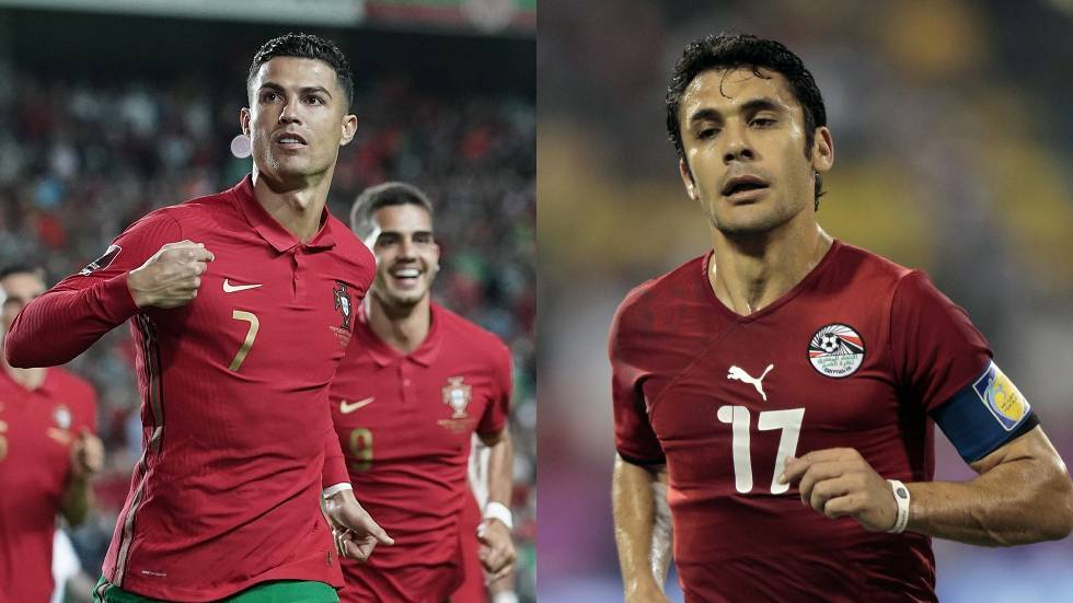 Ronaldo tightens the screws on the Egyptian Ahmed Hassan