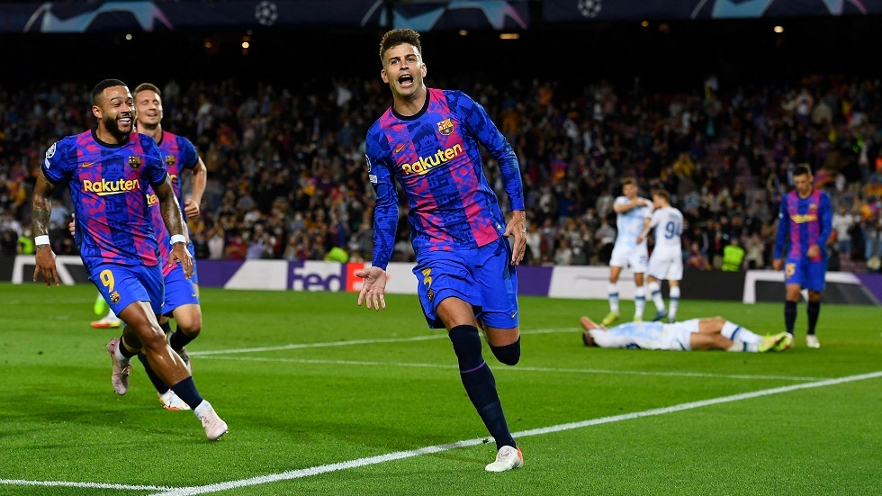 Pique shares Roberto Carlos with a Champions League record (video)