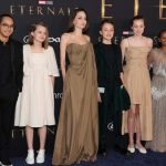 Angelina Jolie's daughter wears her mother's most famous dress