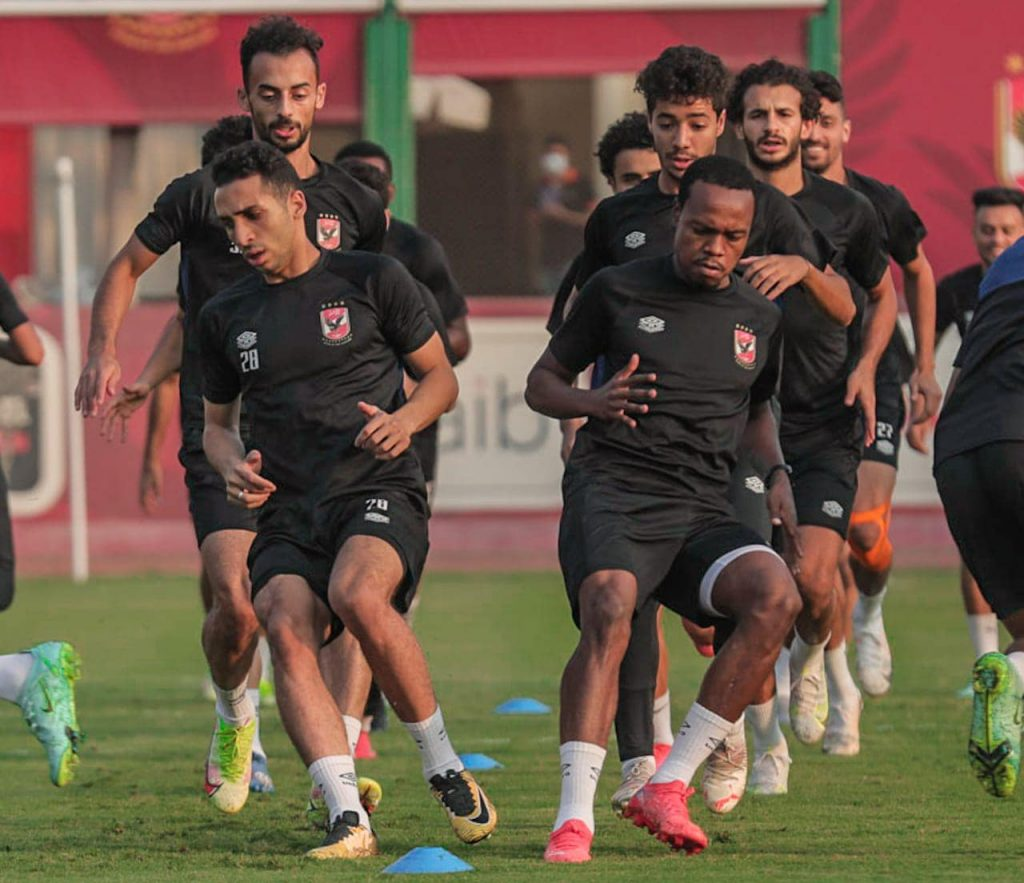 In the video .. Details of Al-Ahly's training in preparation for the start of the African Champions League