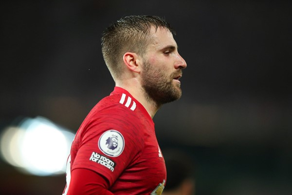 """Luke Shaw: I can't believe I'm in the same """"dressing room"""" with the Don!"""