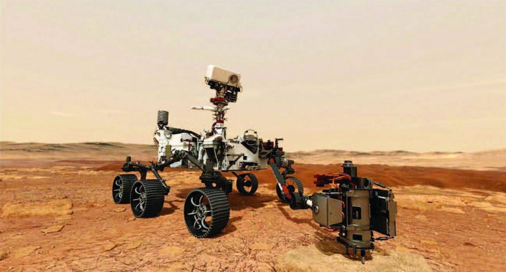 NASA robot searches for traces of past life on Mars