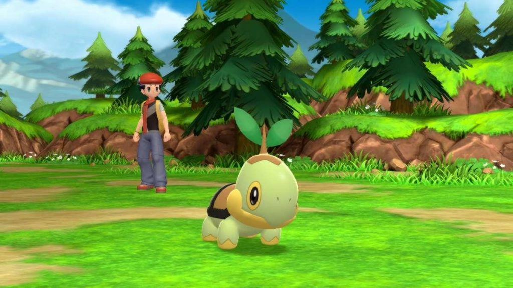 Pokemon Diamonds and Pearls Remake that changes the main feature of the original