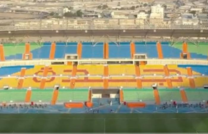 """Prince Abdullah Al-Faisal Stadium before the """"Jeddah Derby"""" .. a new suit and complete readiness"""
