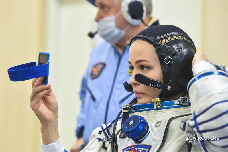 Russian Yulia Peresild is the first actress in history to shoot a movie in space (video)    News