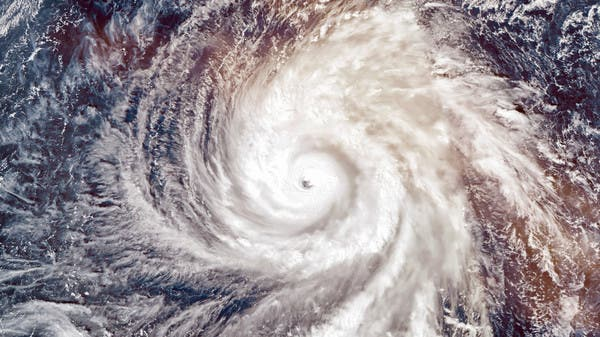 Stunning shots... What does it look like to be inside the eye of a real hurricane?
