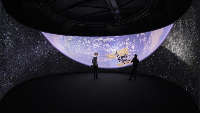 Switzerland unveils an electronic program that allows virtual visits to the universe