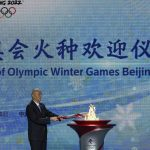 The Olympic torch for the 2022 Winter Games arrives in China