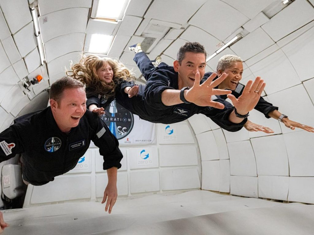 The SpaceX astronaut said she was sick in the first two days of the Inspiration4 mission and thought the spaceflight wasn't long enough, according to a report.