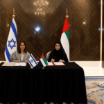 The UAE and Israel sign an agreement to enhance cooperation in the field of space