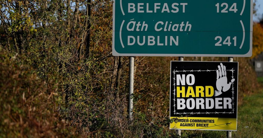 The UK insists that a 'significant change' to the Northern Ireland protocol is needed