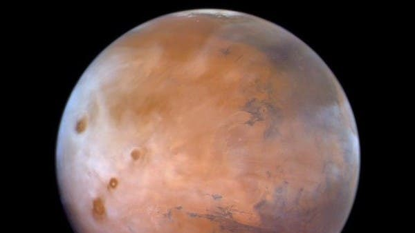 Watch a photo taken by the Hope probe for the spring season on Mars